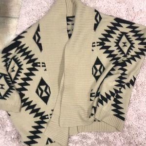 Aztec cardigan